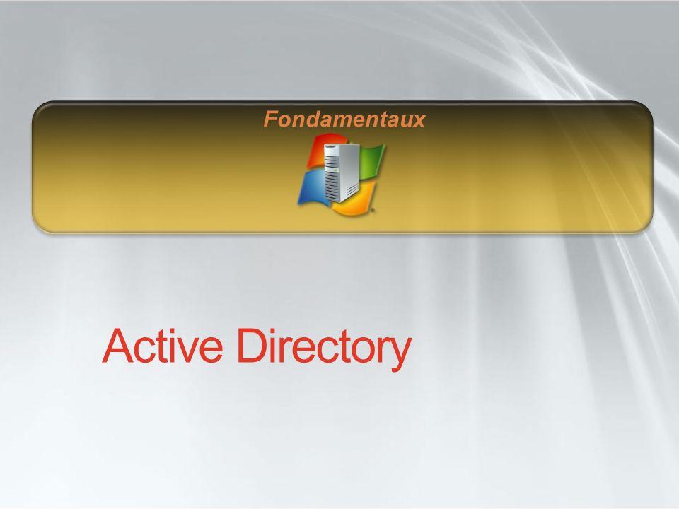 Objectifs Disposer de mécanismes permettant une installation granulaire dActive Directory Améliorer la prise en charge des serveurs distribués géographiquement (agences) Optimiser la consommation de bande passante Elever le niveau de sécurité