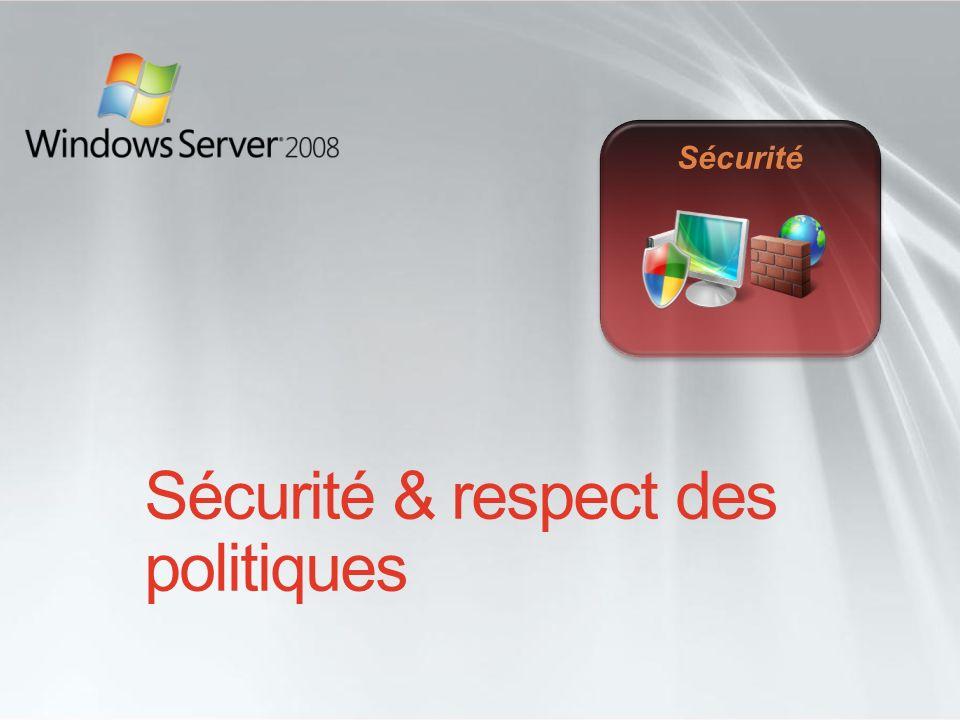 Sécurité & respect des politiques Sécurité