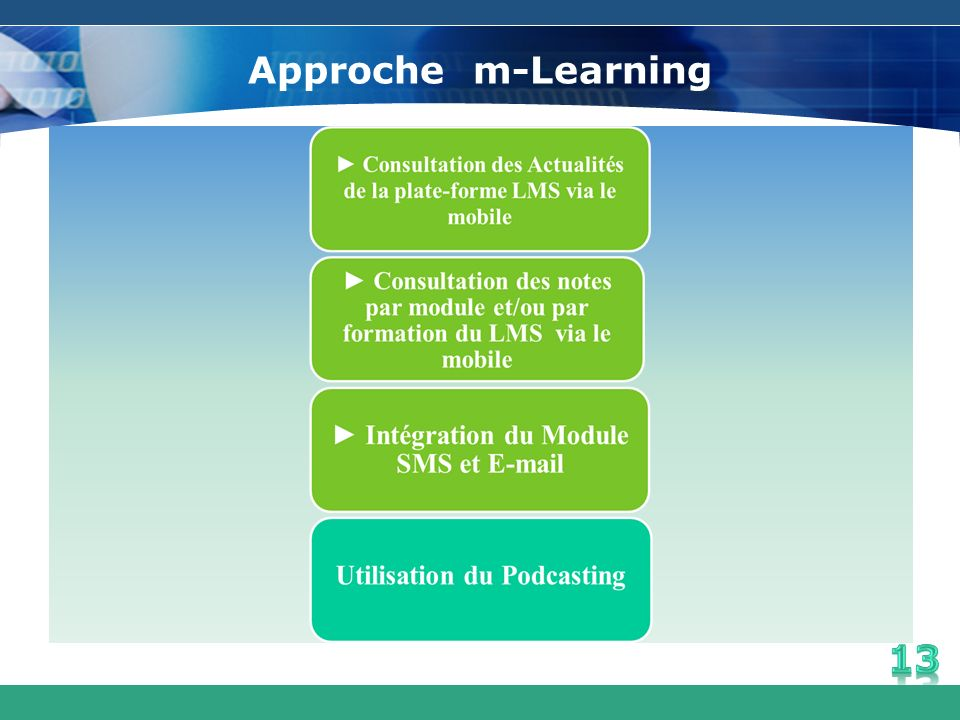 Approche m-Learning