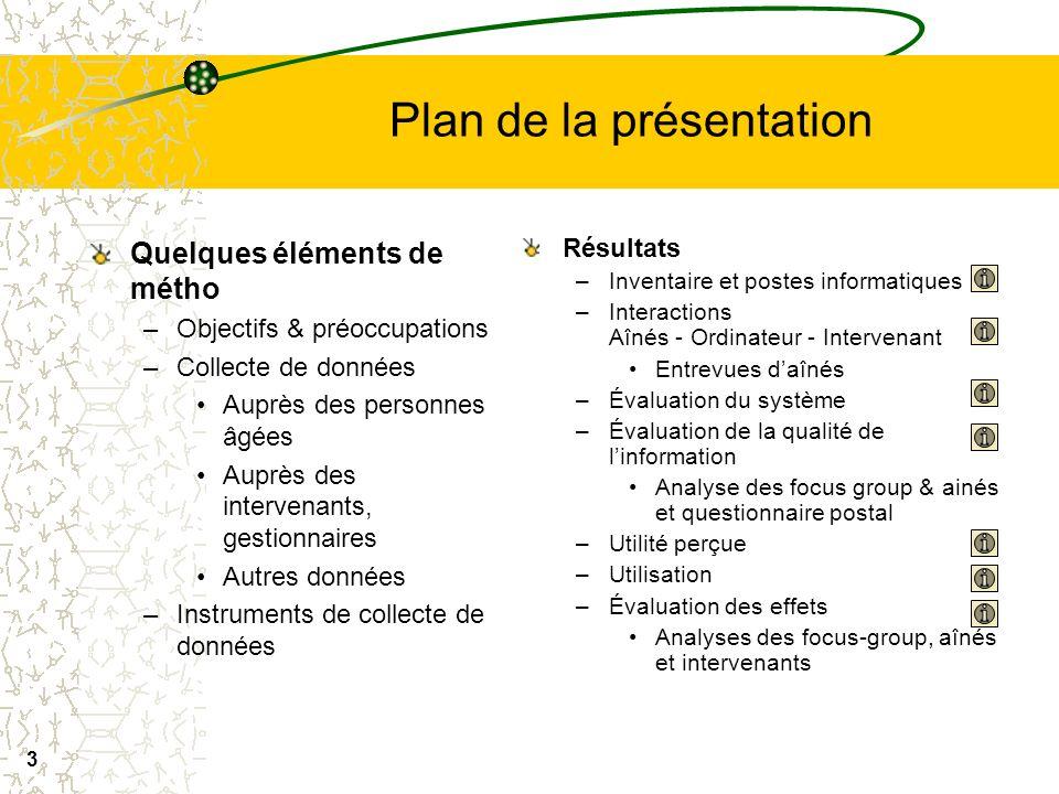 2 Équipe de recherche André Tourigny (MD), (Unité de recherche en gériatrie – Université Laval – CHA Institut national de santé publique ) Diane Morin