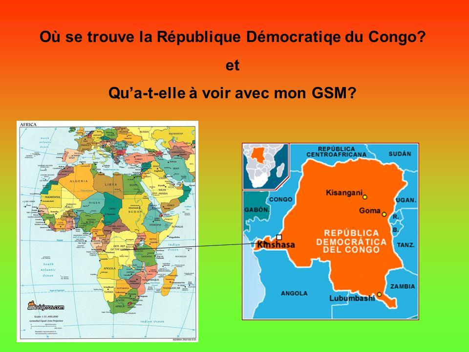 LAfrique, Le Congo, La Guerre, Le COLTAN… et.. TON TELEPHONE