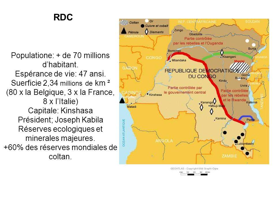 Où se trouve la République Démocratiqe du Congo? et Qua-t-elle à voir avec mon GSM?