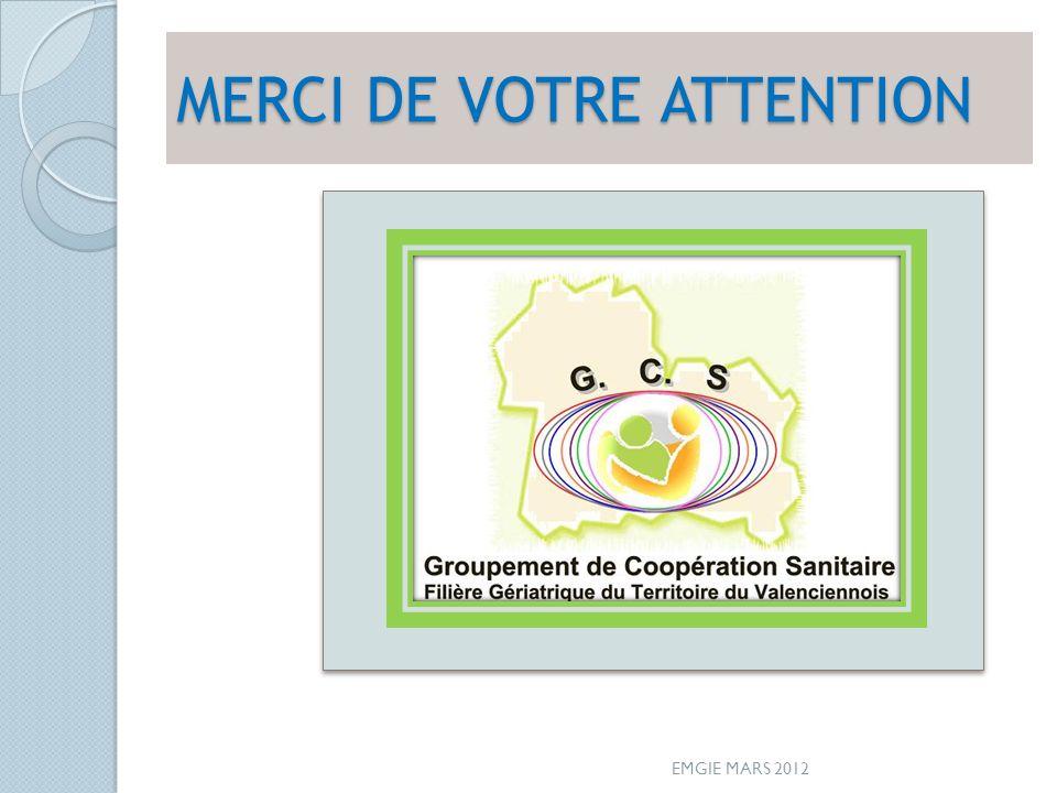 MERCI DE VOTRE ATTENTION EMGIE MARS 2012
