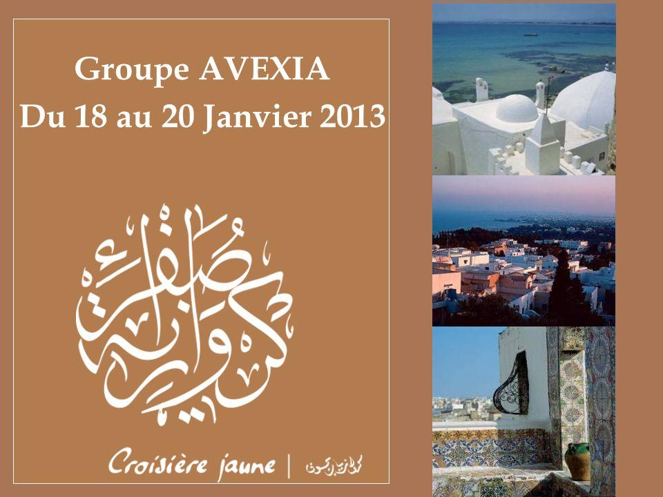 Groupe AVEXIA Du 18 au 20 Janvier 2013