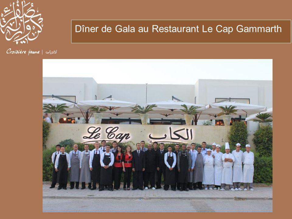 Dîner de Gala au Restaurant Le Cap Gammarth