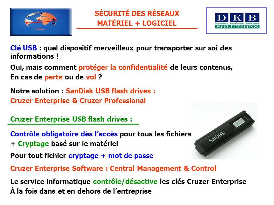 Clé USB : quel dispositif merveilleux pour transporter sur soi des informations ! Oui, mais comment protéger la confidentialité de leurs contenus, En