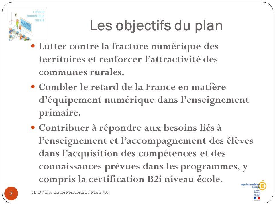 Les objectifs du plan Lutter contre la fracture numérique des territoires et renforcer lattractivité des communes rurales. Combler le retard de la Fra
