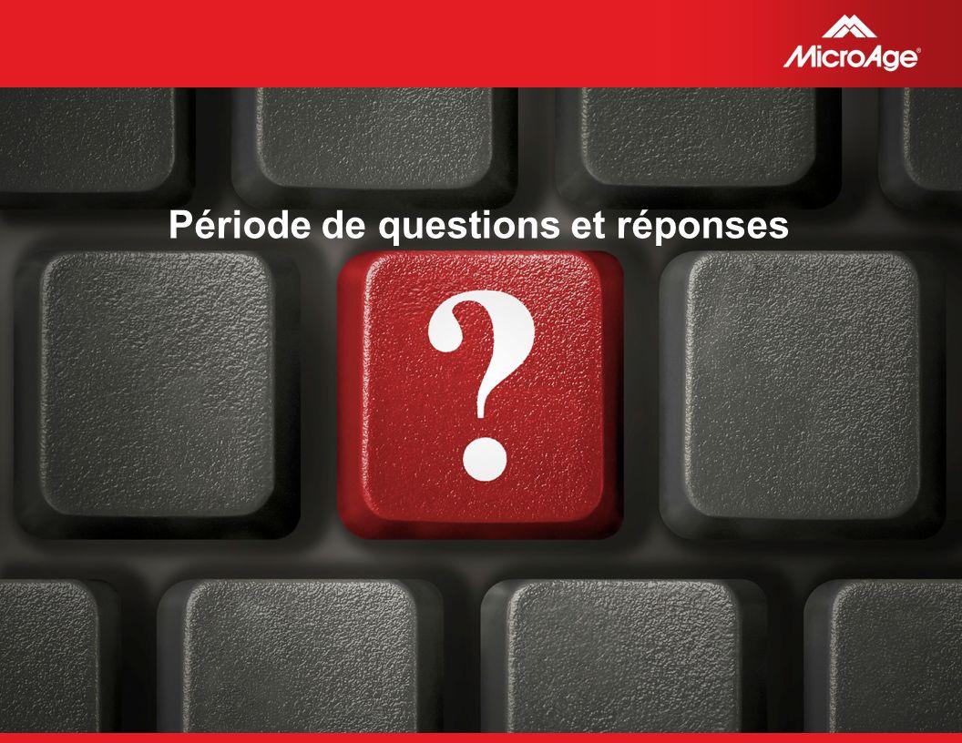 © 2006 MicroAge Période de questions et réponses