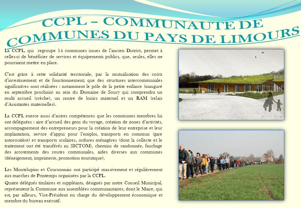 La CCPL, qui regroupe 14 communes issues de lancien District, permet à celles-ci de bénéficier de services et équipements publics, que, seules, elles