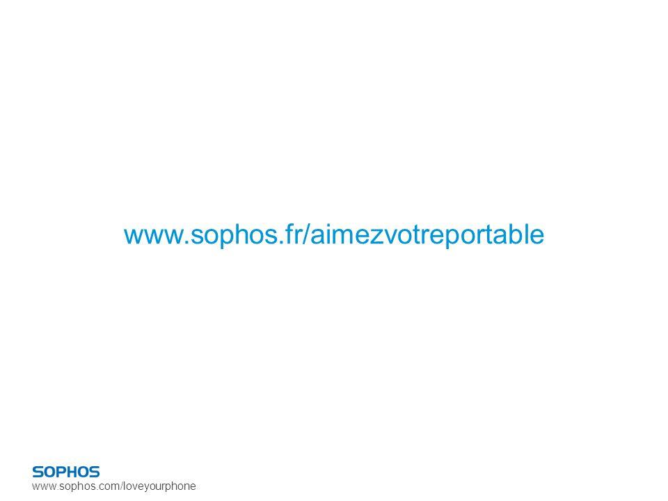 www.sophos.com/loveyourphone www.sophos.fr/aimezvotreportable