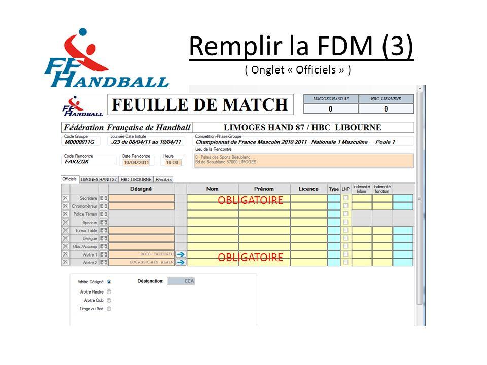 Saisie du Résultat (3) Après-Match Comment saisir un joueur blessé .