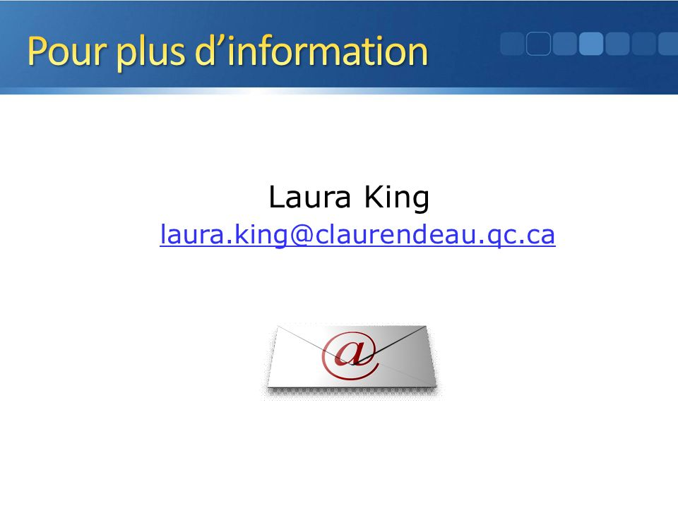 Laura King laura.king@claurendeau.qc.ca 43