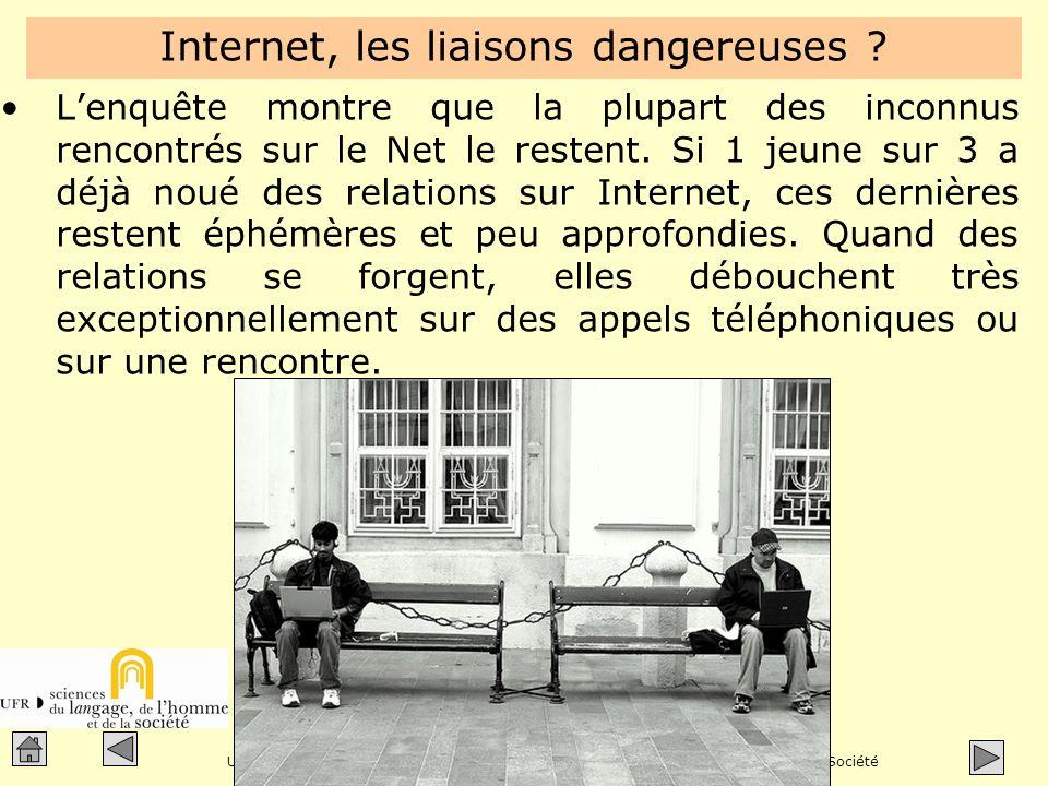 Jacques Cartier, enseignant à lUniversité de Franche-Comté Unité de Formation et de Recherche - Sciences du Langage, de lHomme et de la Société Besançon - France Internet, les liaisons dangereuses .