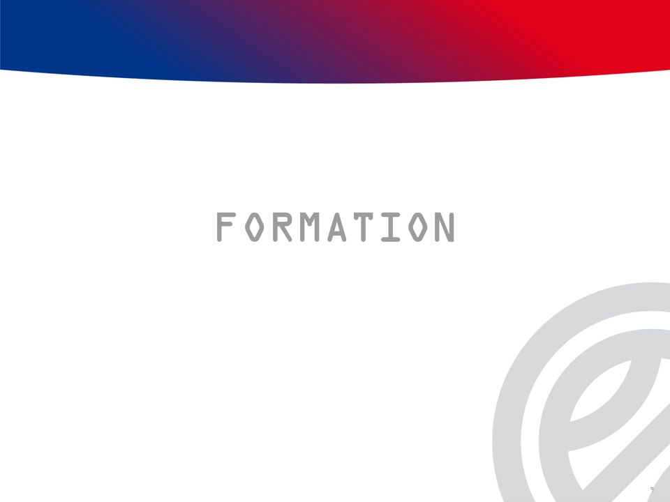 FORMATION 9