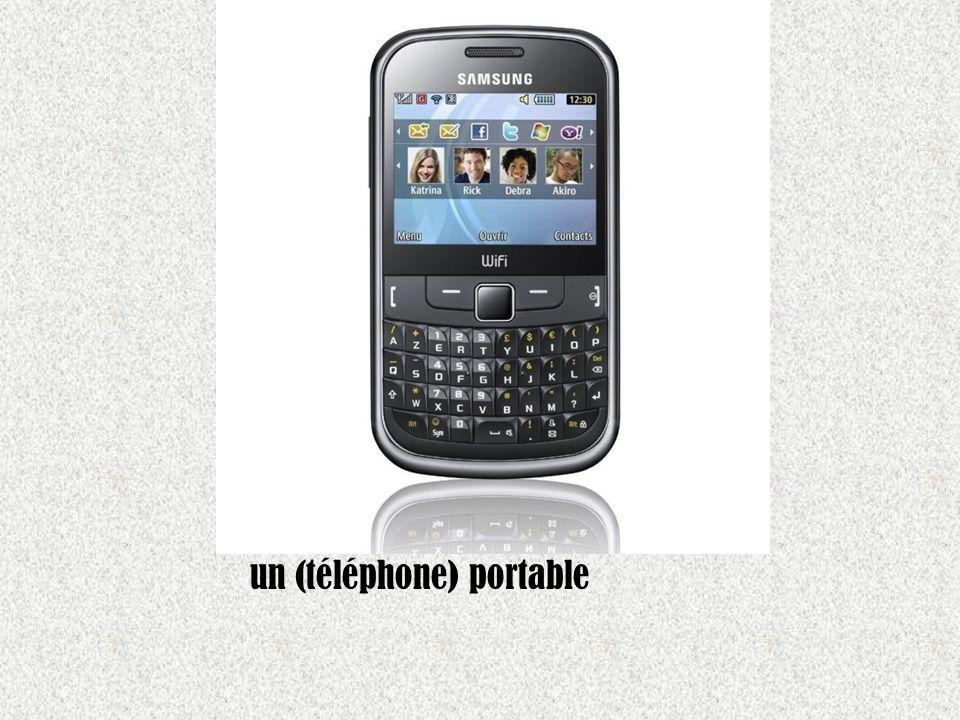 un (téléphone) portable