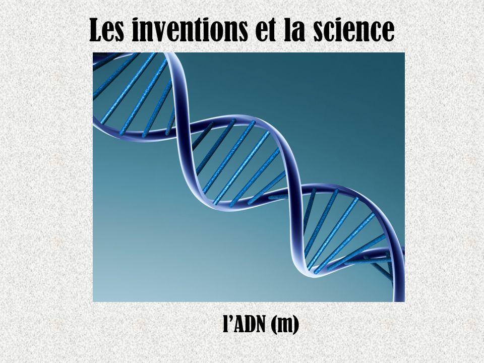 Les inventions et la science lADN (m)