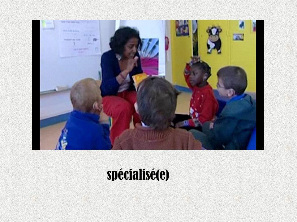 spécialisé(e)