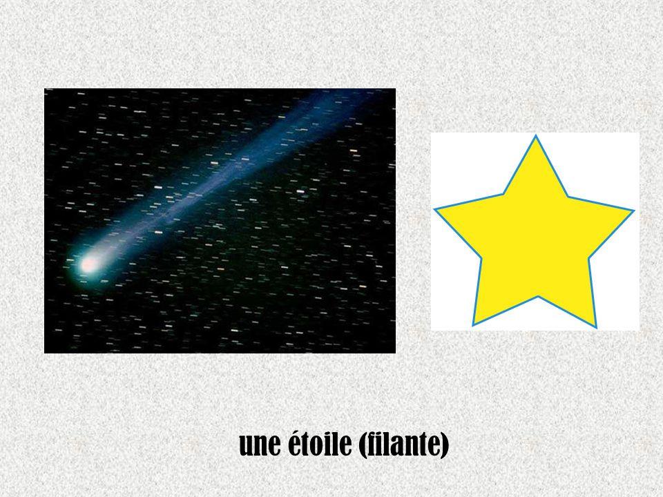 une étoile (filante)