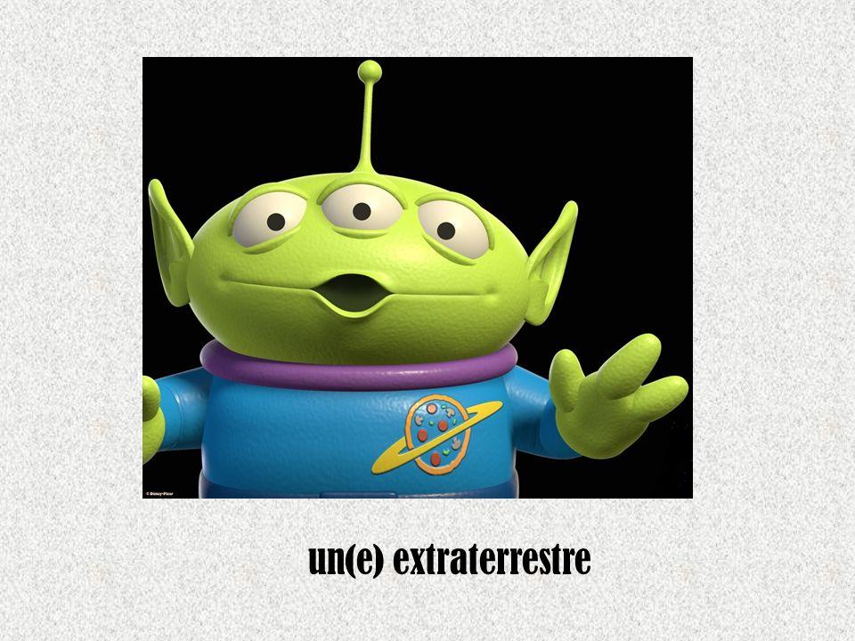 un(e) extraterrestre