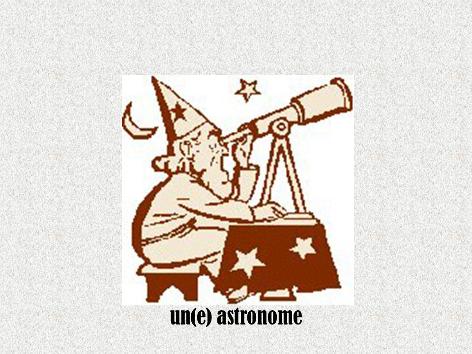 un(e) astronome