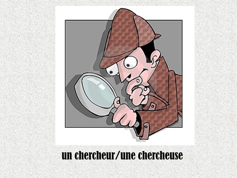 un chercheur/une chercheuse