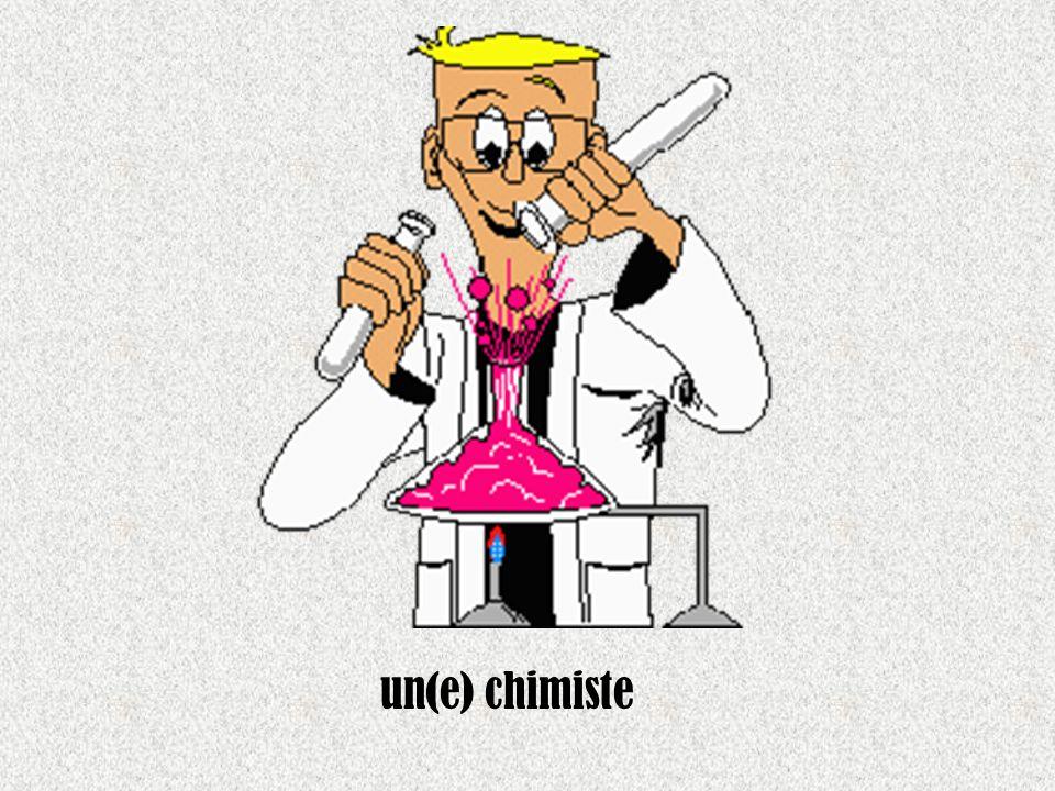 un(e) chimiste