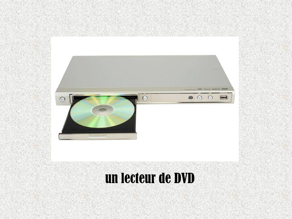 un lecteur de DVD