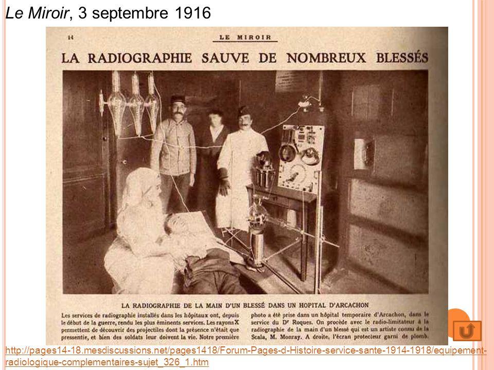 http://pages14-18.mesdiscussions.net/pages1418/Forum-Pages-d-Histoire-service-sante-1914-1918/equipement- radiologique-complementaires-sujet_326_1.htm