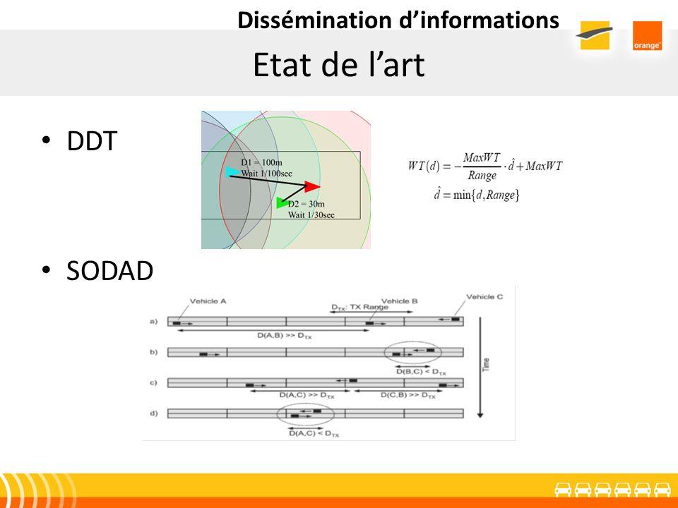 Etat de lart DDT SODAD Dissémination dinformations