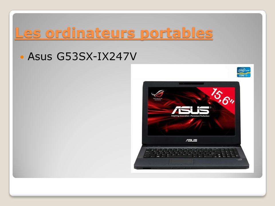 Les ordinateurs portables Asus G53SX-IX247V