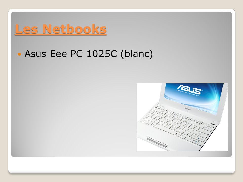 Les Netbooks Asus Eee PC 1025C (blanc)