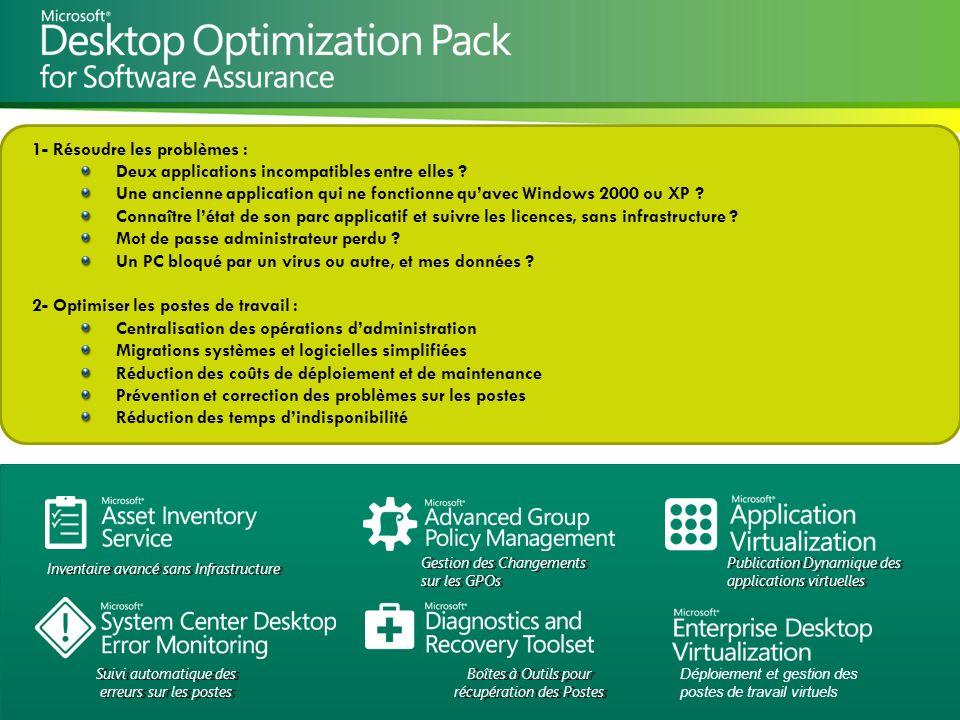 Microsoft Partner Academy – FY11 App 1- Résoudre les problèmes : Deux applications incompatibles entre elles ? Une ancienne application qui ne fonctio
