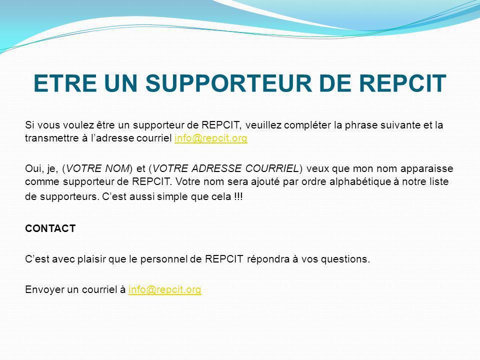 RÉDIGER UNE LETTRE Vous pouvez aider REPCIT en adressant vos commentaires par lettre: - à Pauline Marois, la première ministre du Québec - à votre dép