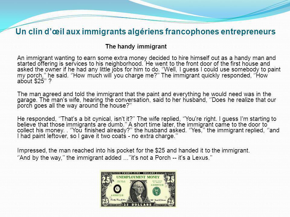 Françoise David : Je lance le défi aux immigrants algériens francophones dapprendre langlais. Le bilinguisme créera un choc assez puissant dans leurs