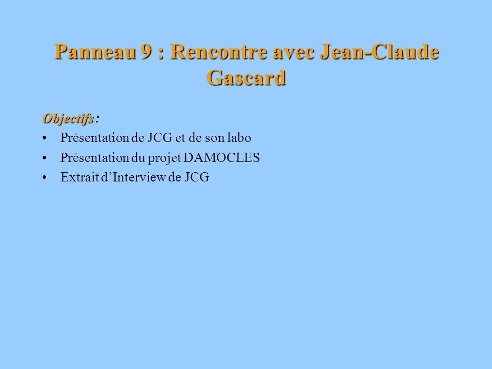 Panneau 10 : Les auteurs de lexposition Objectifs Objectifs : - Présentation du lycée Ch.