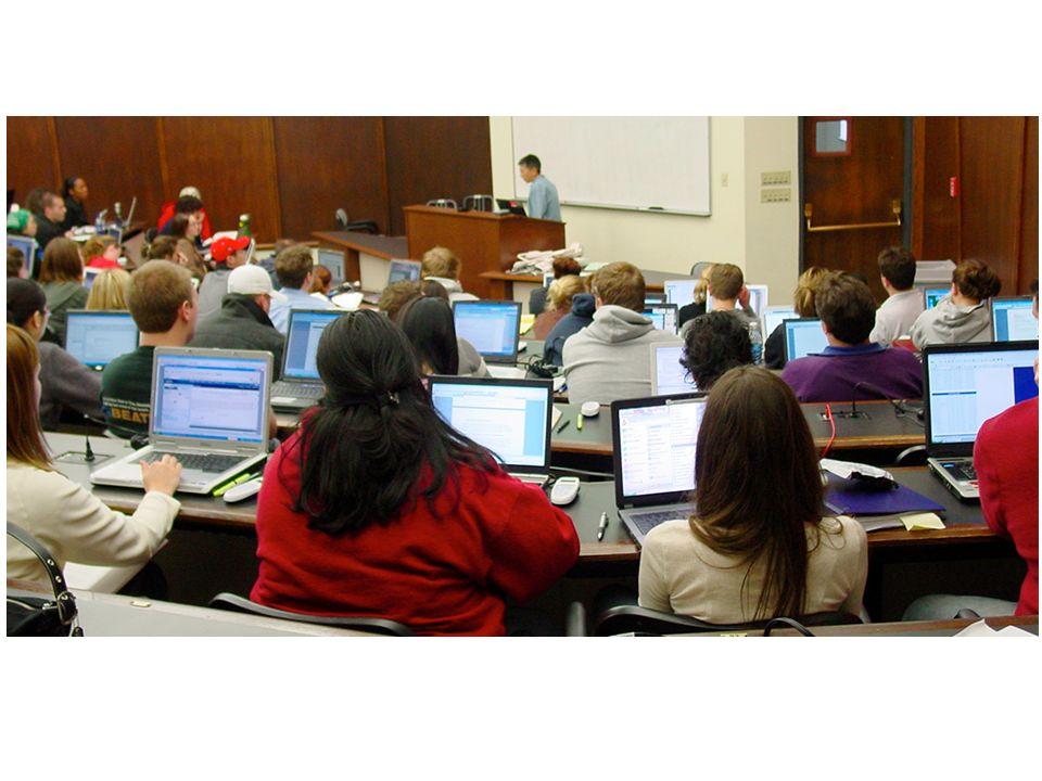 Inconvénients 2.Déconcentration –Des étudiants utilisant leurs portables « Jai souvent vu des élèves écouter des films complets pendant des cours.