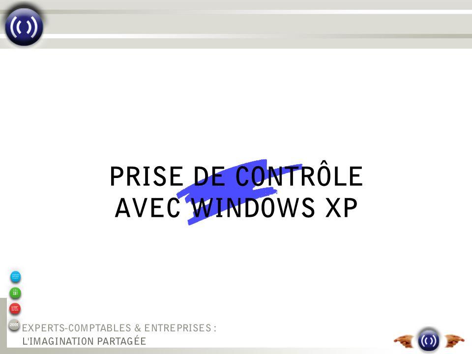 PRISE DE CONTRÔLE AVEC WINDOWS XP