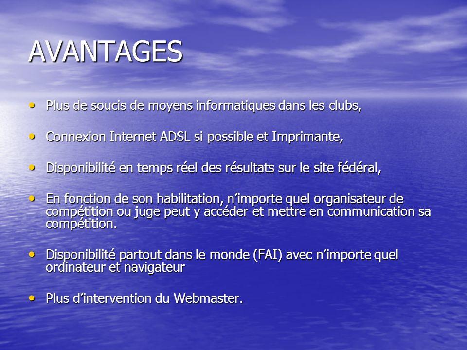 2 ème PARTIE Validation de lensemble de la compétition Validation de lensemble de la compétition Impression des résultats Impression des résultats