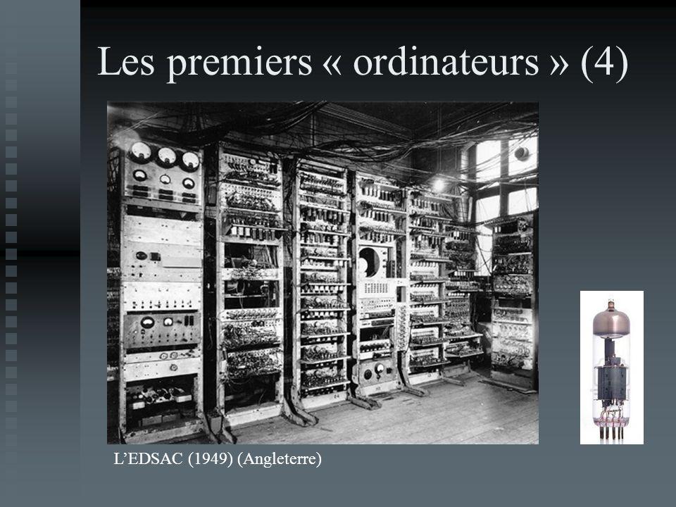 Les premiers « ordinateurs » (4) LEDSAC (1949) (Angleterre)