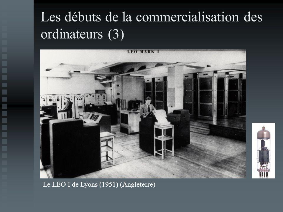 Les débuts de la commercialisation des ordinateurs (3) Le LEO I de Lyons (1951) (Angleterre)