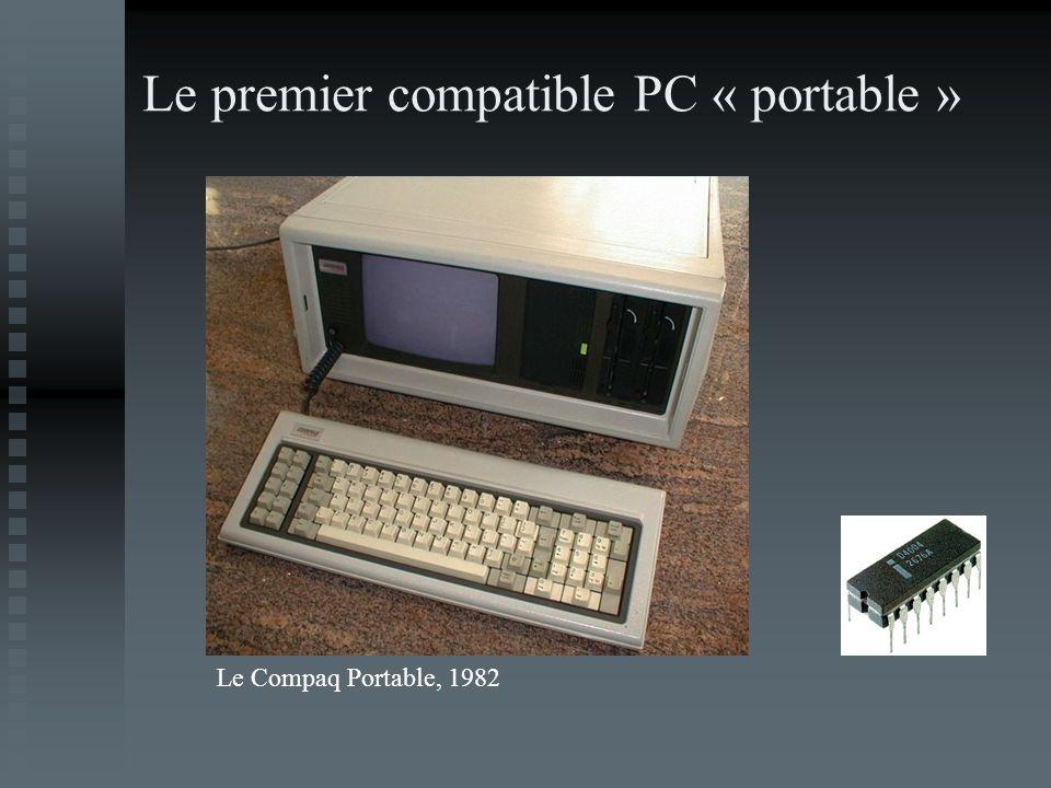 Le premier compatible PC « portable » Le Compaq Portable, 1982
