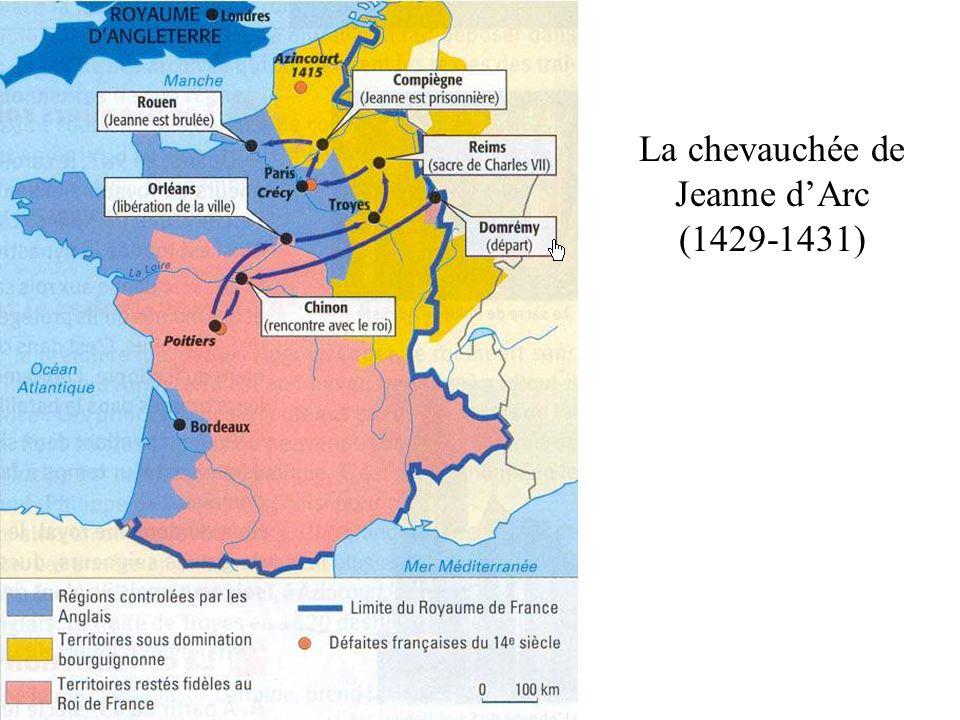 La chevauchée de Jeanne dArc (1429-1431)