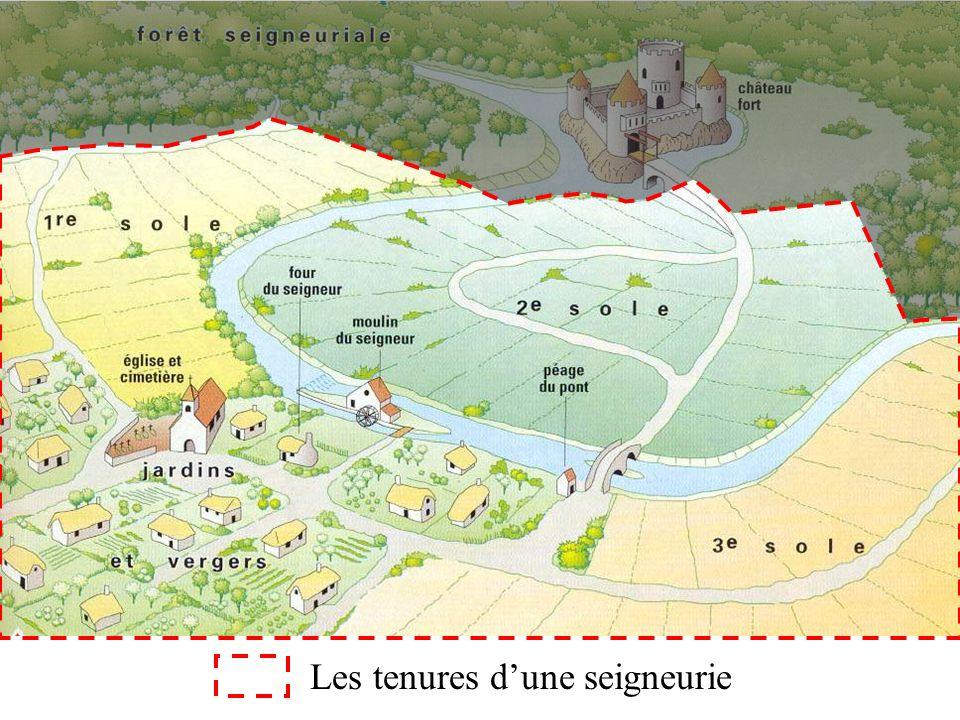Les tenures dune seigneurie