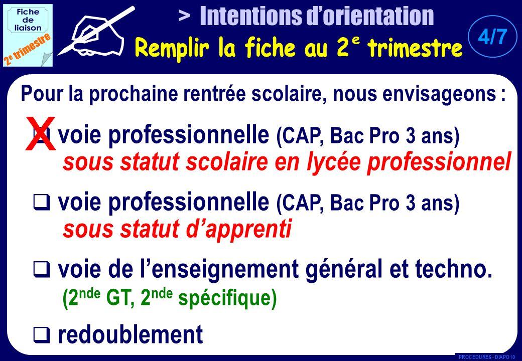 voie professionnelle (CAP, Bac Pro 3 ans) sous statut scolaire en lycée professionnel voie professionnelle (CAP, Bac Pro 3 ans) sous statut dapprenti