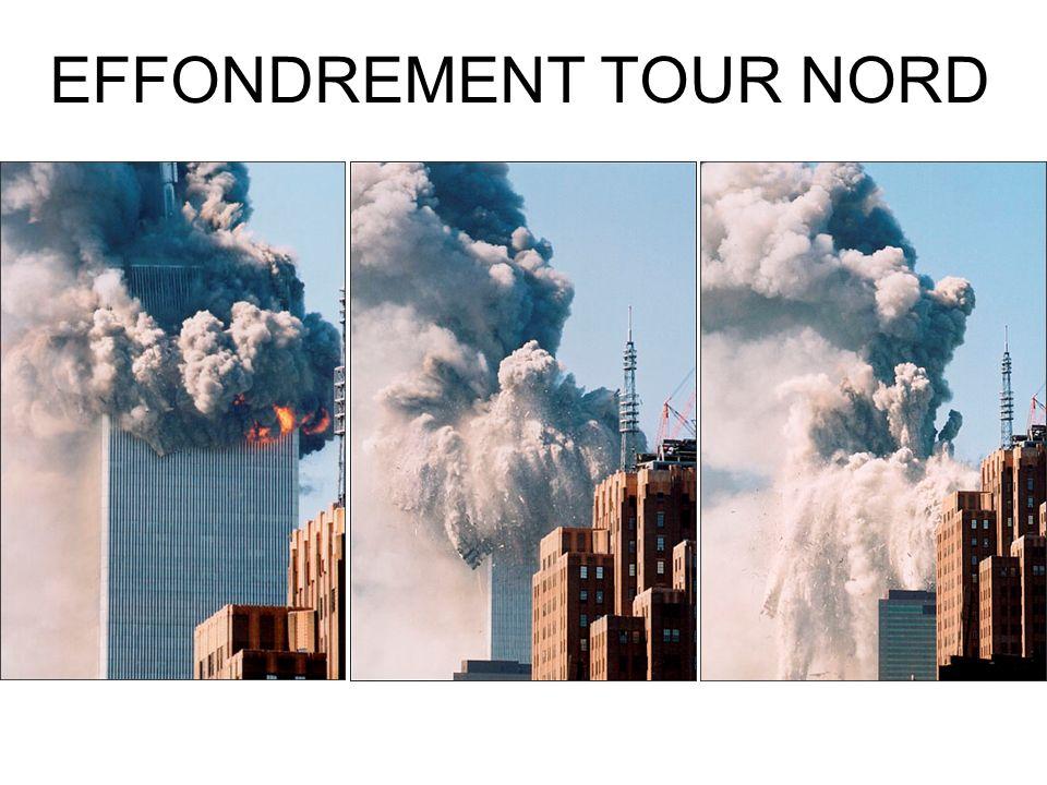 EFFONDREMENT TOUR NORD