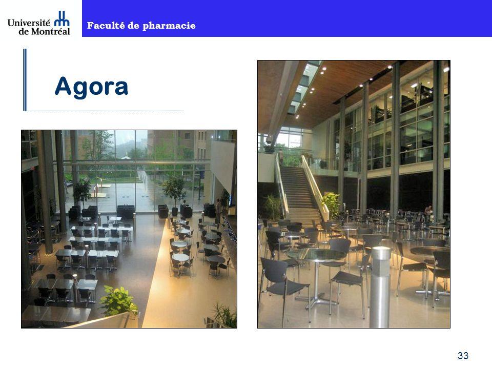 Faculté de pharmacie 33 Agora