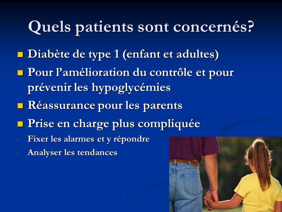 Quels patients sont concernés.
