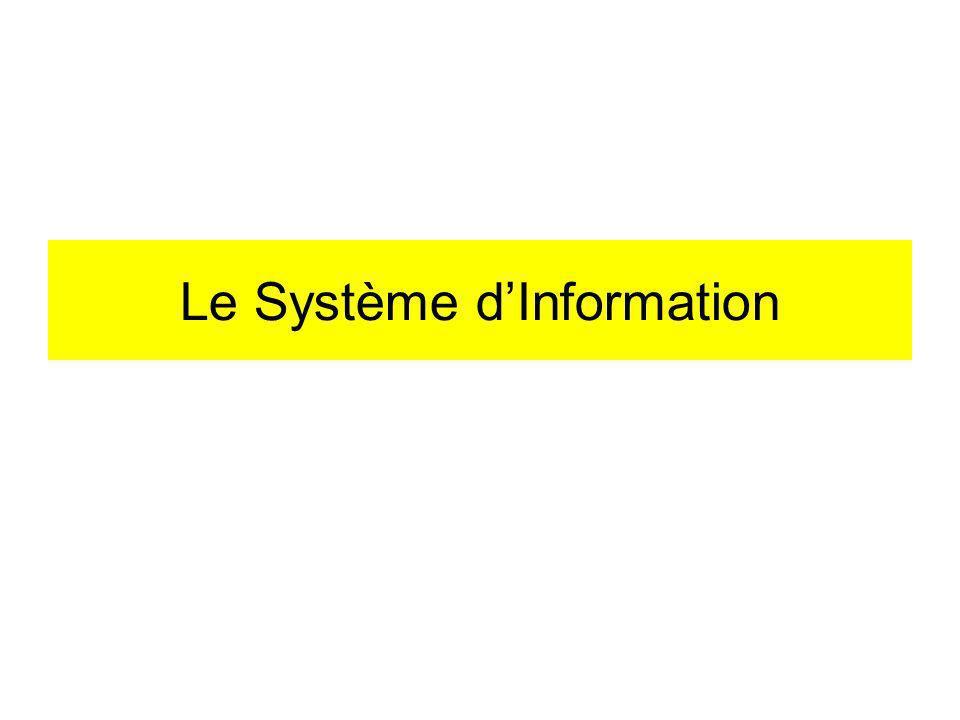 Le Système dInformation