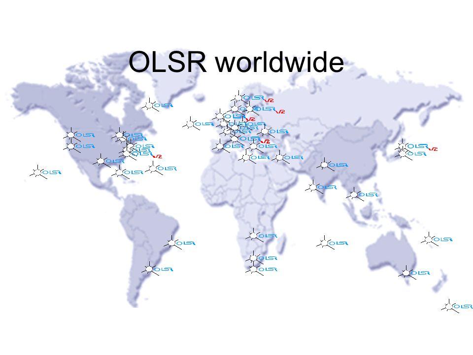 OLSR worldwide