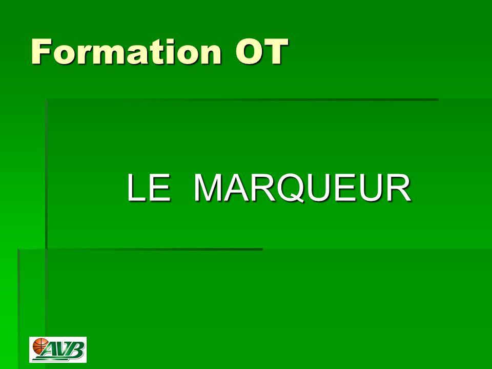 Formation OT LE MARQUEUR